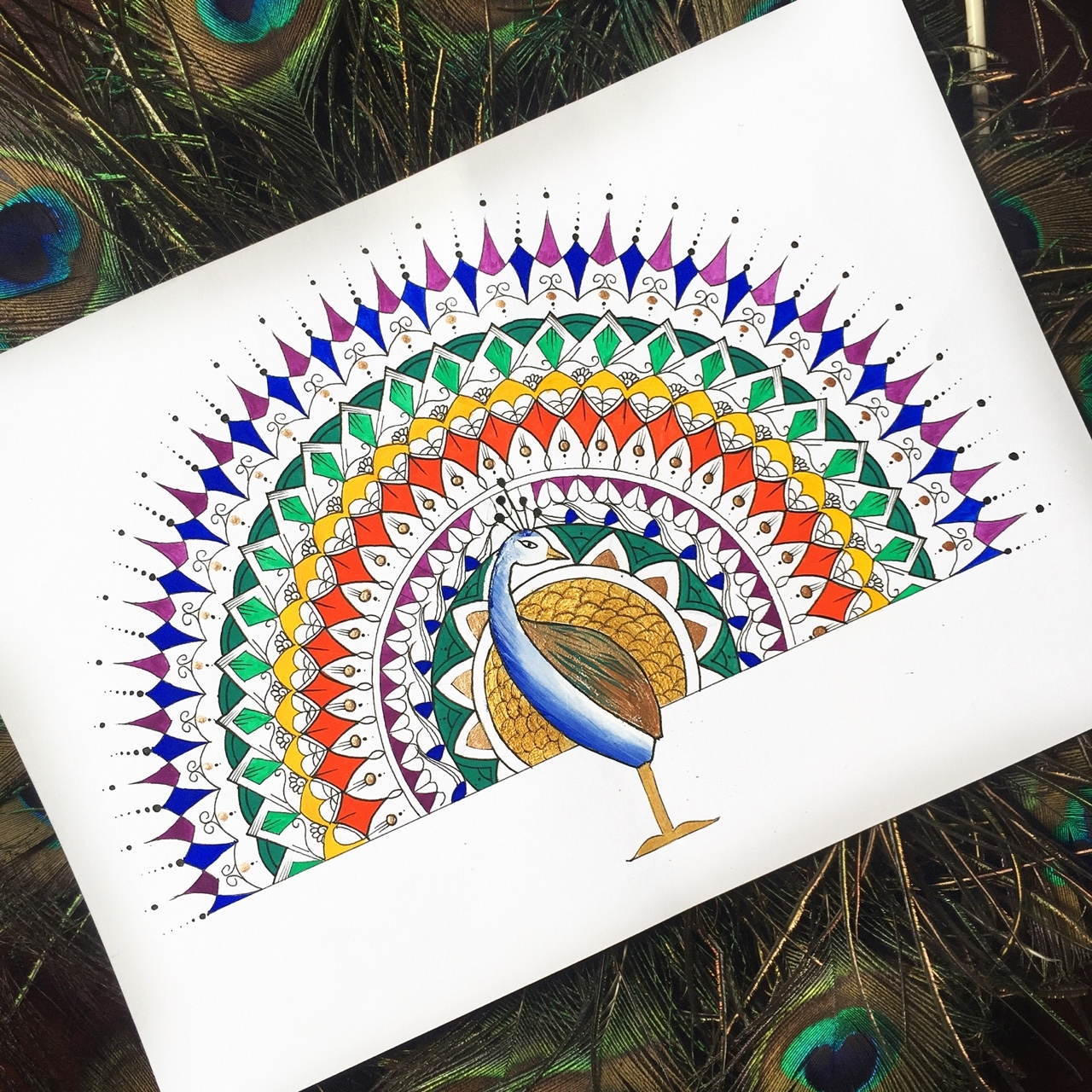 14-Peacock-Dilrani-Kauris-Symmetry-and-Style-in-Mandala-and-Mehndi-Drawings-www-designstack-co