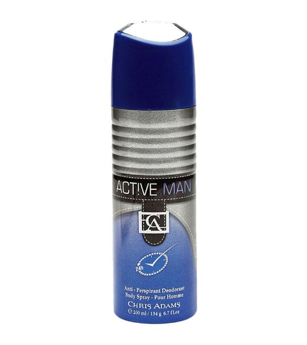 Chris Adams Active Men Body Spray 200 ml