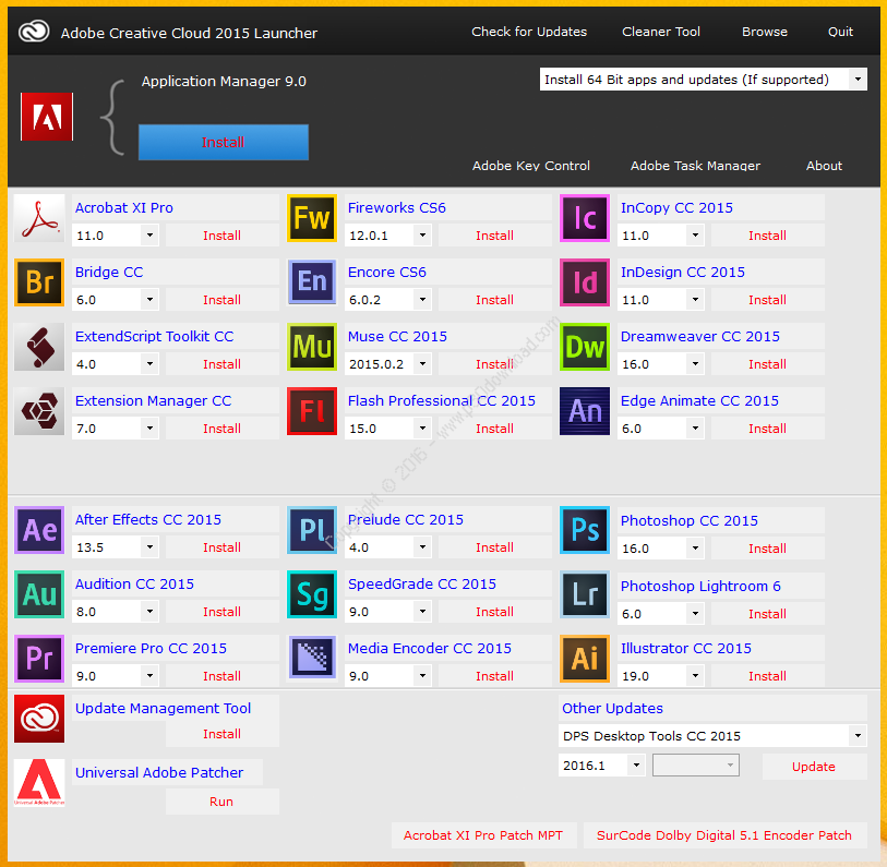 Download latest Software: Download Adobe Creative Cloud 2015