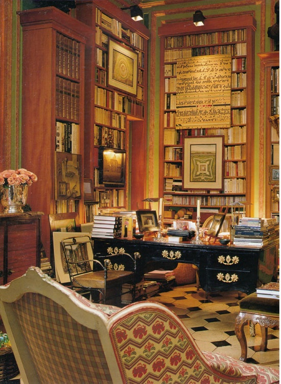 Classic Home Library Design: Eye For Design: Decorating Home Libraries