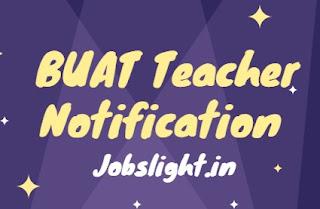 BUAT Teacher Notification