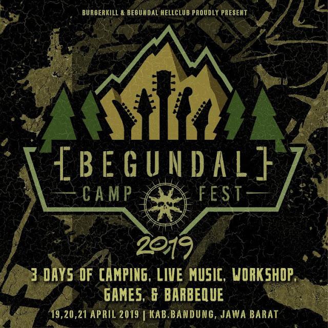 Flyer Begundal Campfest 2019