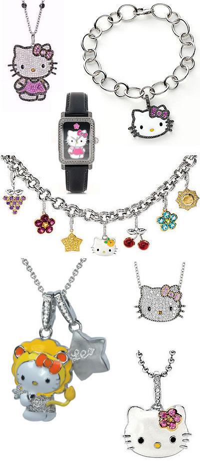 Beauty Fashion Trends Blogs Hello Kitty Jewelry Fashion