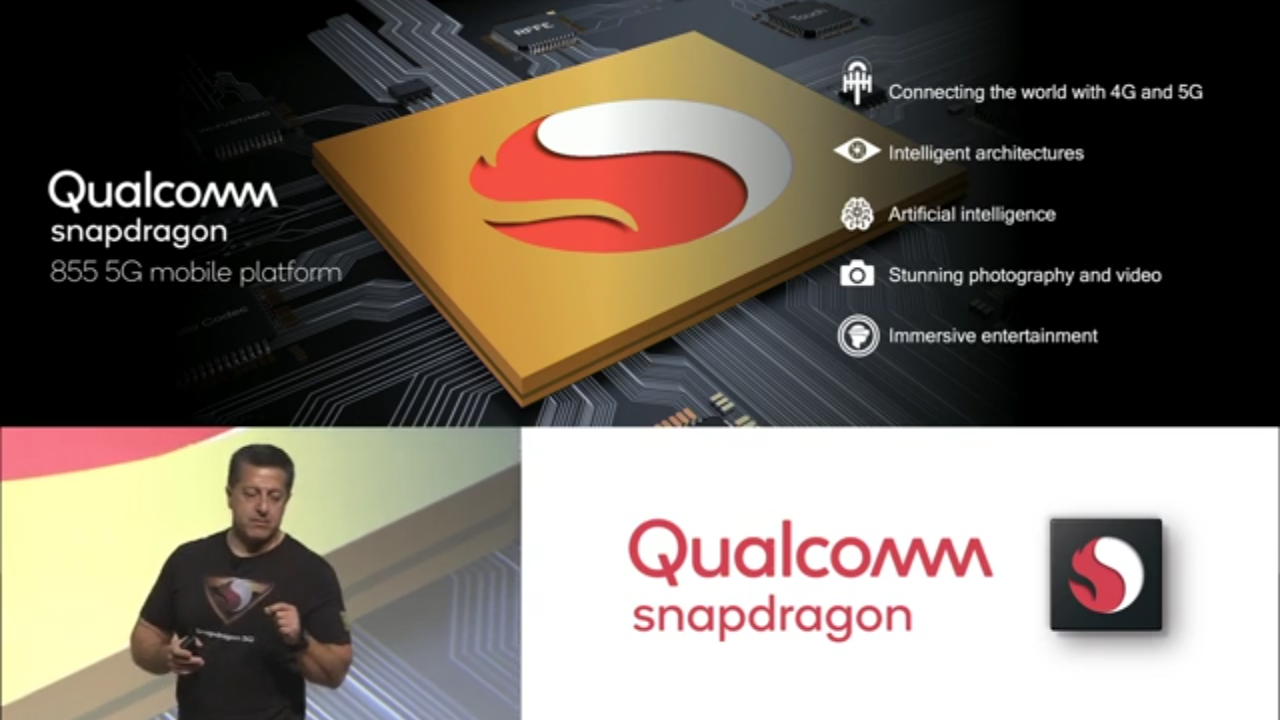 Qualcomm Announced Snapdragon 855 with X50 Modem For 5G