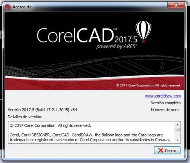 CorelCAD 2017 Build 17.2.1.3045 Full Español