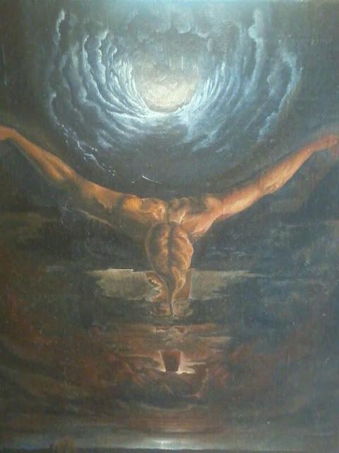 Сюрреализм Святослава Мудрова, название - мое распятие.