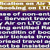 LTC Clarification - Procedure for booking of Air Tickets by non-entitled Govt Employee and claiming entitled rail fare