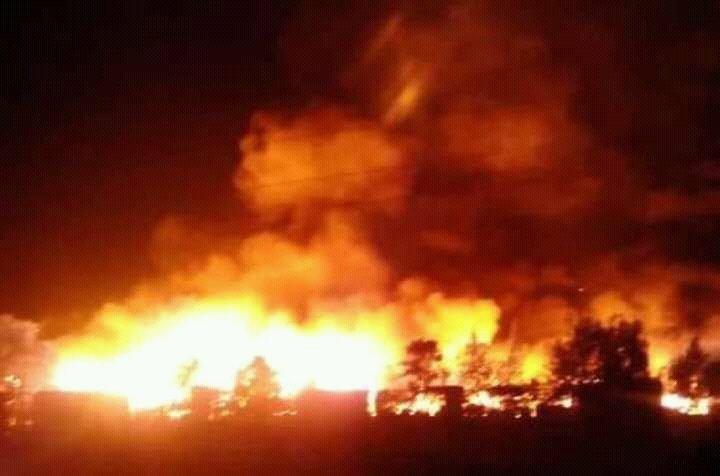 Gikomba Market Fire
