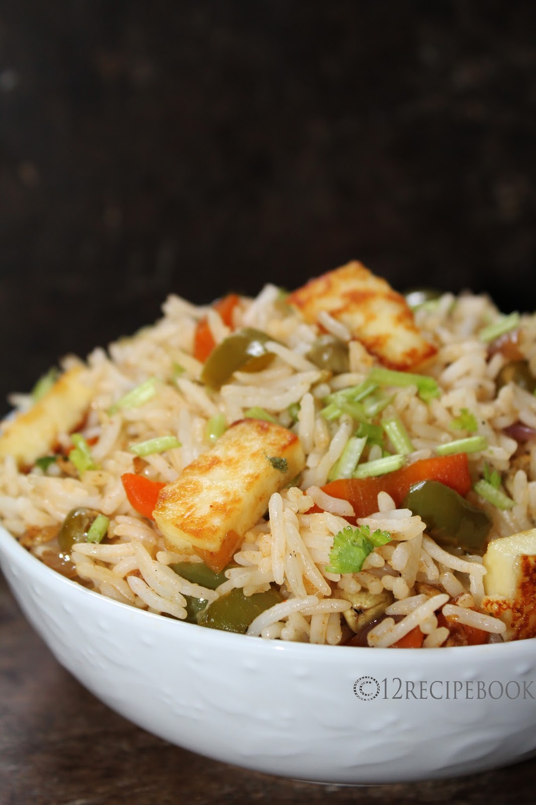 how to prepare paneer curry for rice