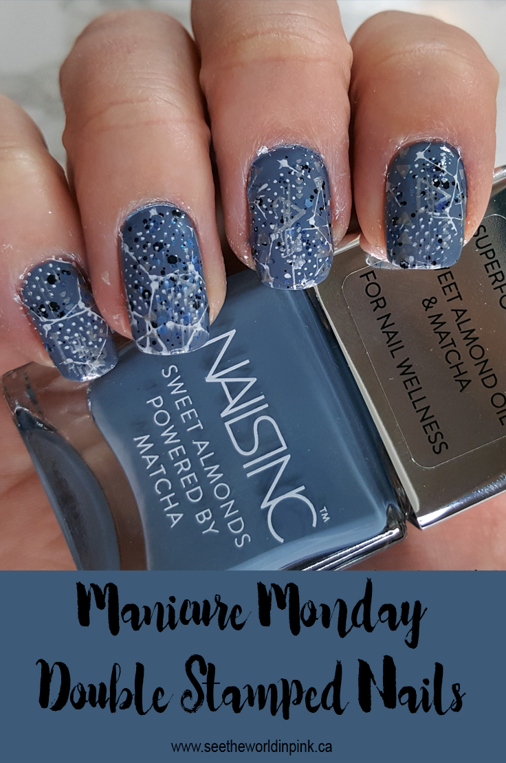 Manicure Monday - Double Stamped Nails