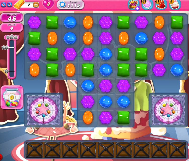Candy Crush Saga 1115