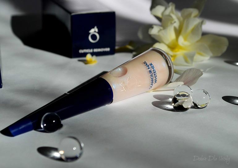 Herome - Glamour Nail Whitener kremowy wybielacz paznokci