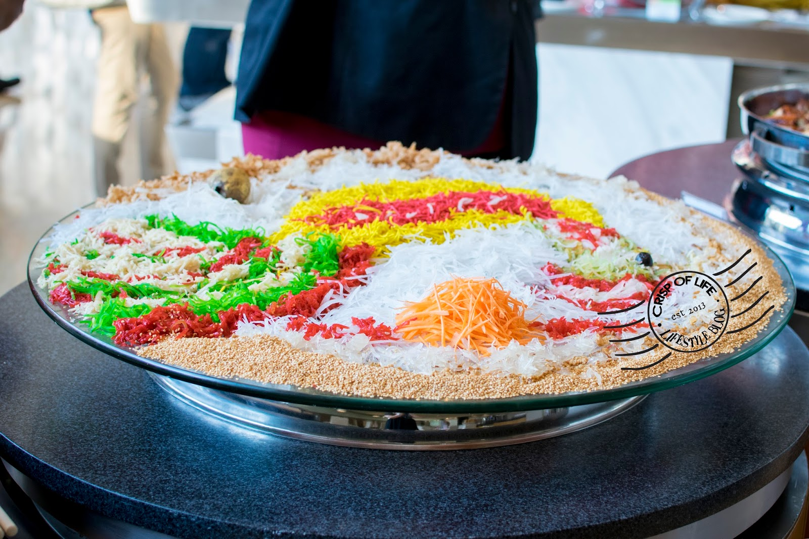 Giant Yee Sang for Chinese New Year Reunion Dinner @ Eastin Hotel, Penang