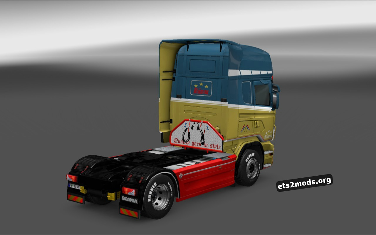 Bijman Holland Skin for Scania RJL