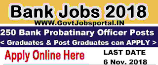 Bank PO Recruitment 2018