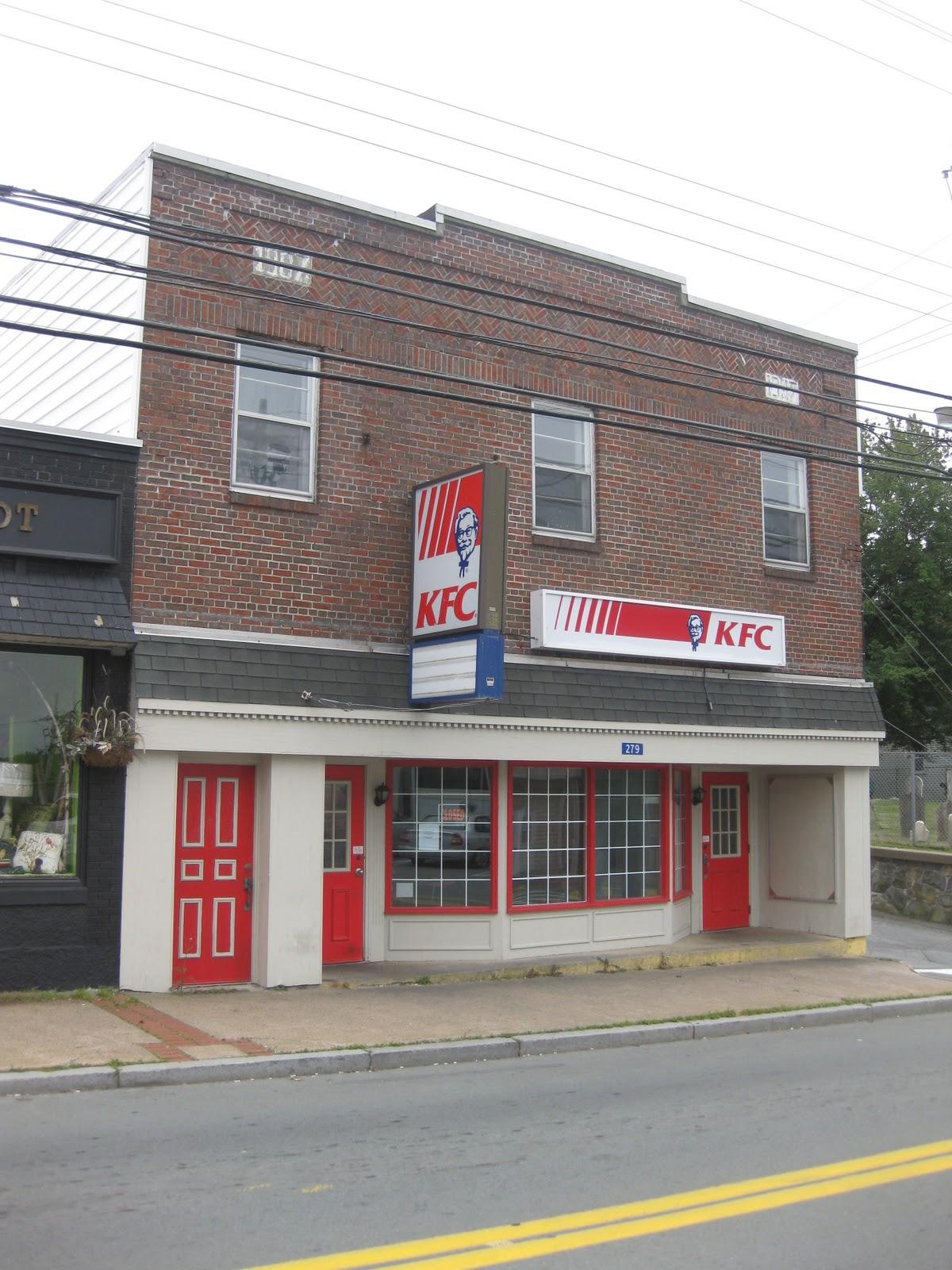 Tim's Queen's County Blog: Kentucky Fried Chicken ...
