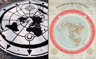 The Flat Earth Truth Map-pic