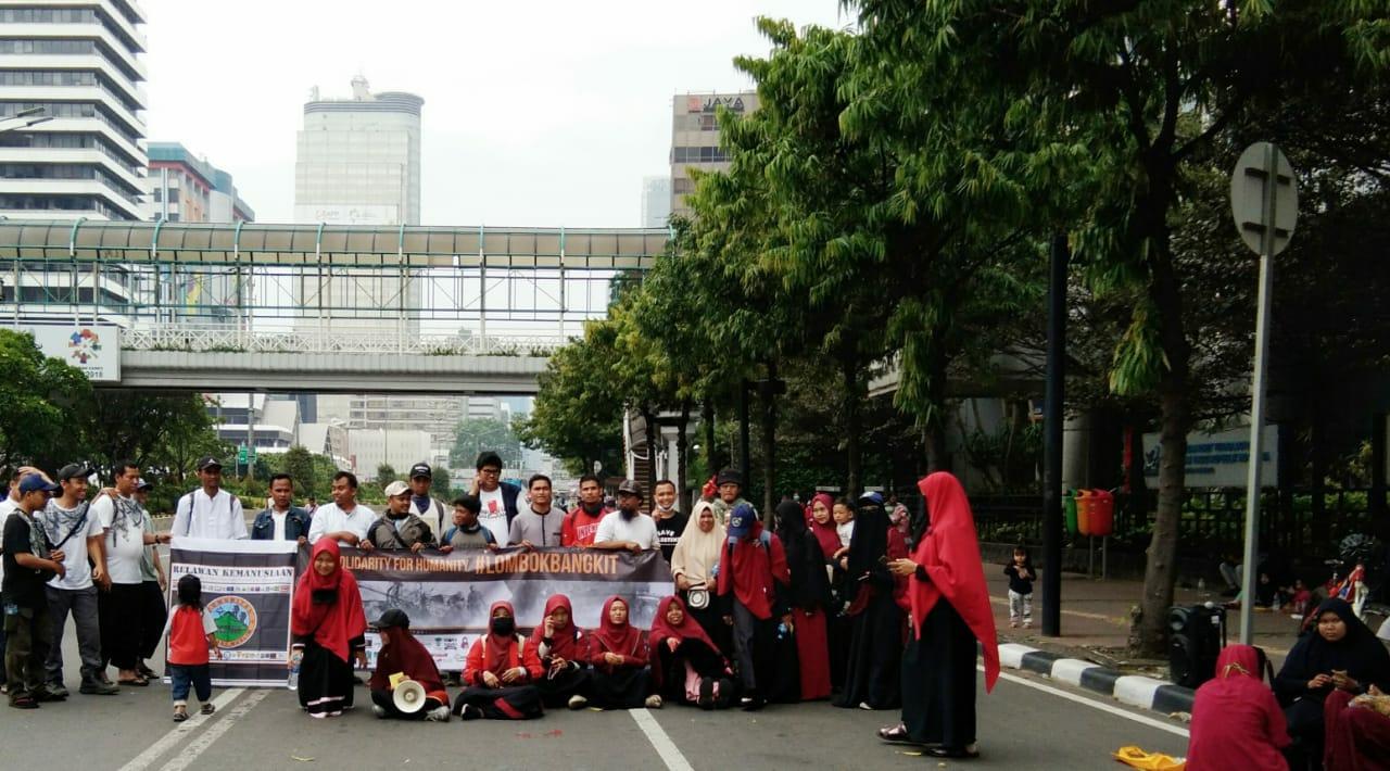 Solidaritas Kemanusiaan #LombokBangkit