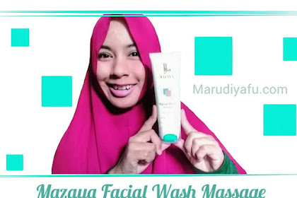 Mazaya Facial Wash Massage #InovasiTerbaruMazaya
