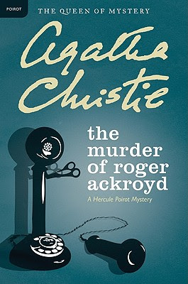 The Murder of Roger Ackroyd by Agatha Christie - book cover