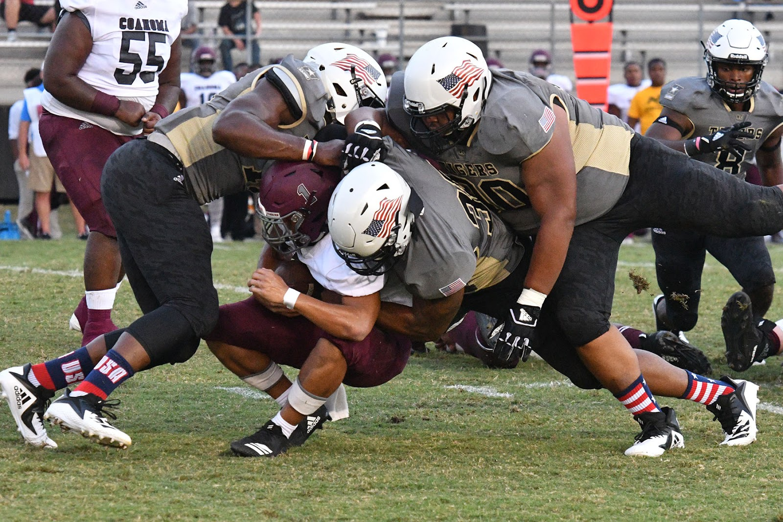 the northeast mississippi community college football team reaches the midway point of the 2018 campaign by renewing hostilities with its long time rival