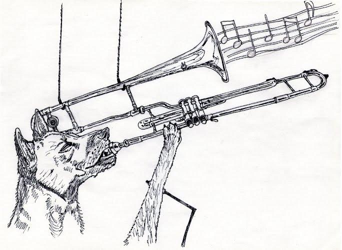 a little bit sketchy: give a dog a trombone  a little bit sk...
