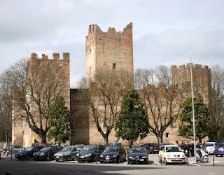 The Rocca di Reggiolo in Ancelotti's home town