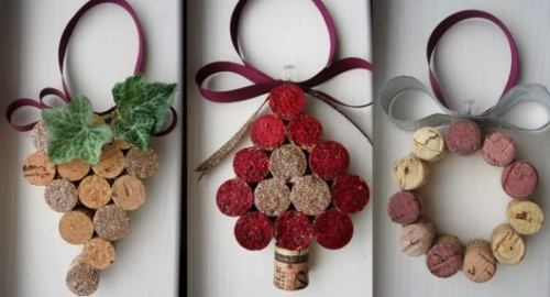 Cool Diy Christmas Decorations Made Of Wine Corks