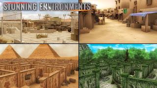 MazeMilitia: LAN, Online Multiplayer Shooting Game Mod
