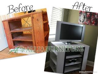Merubah Furniture Lama Menjadi Baru