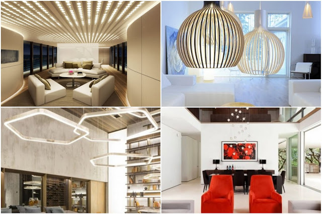 18 Modern Sitting Room Lighting Designs