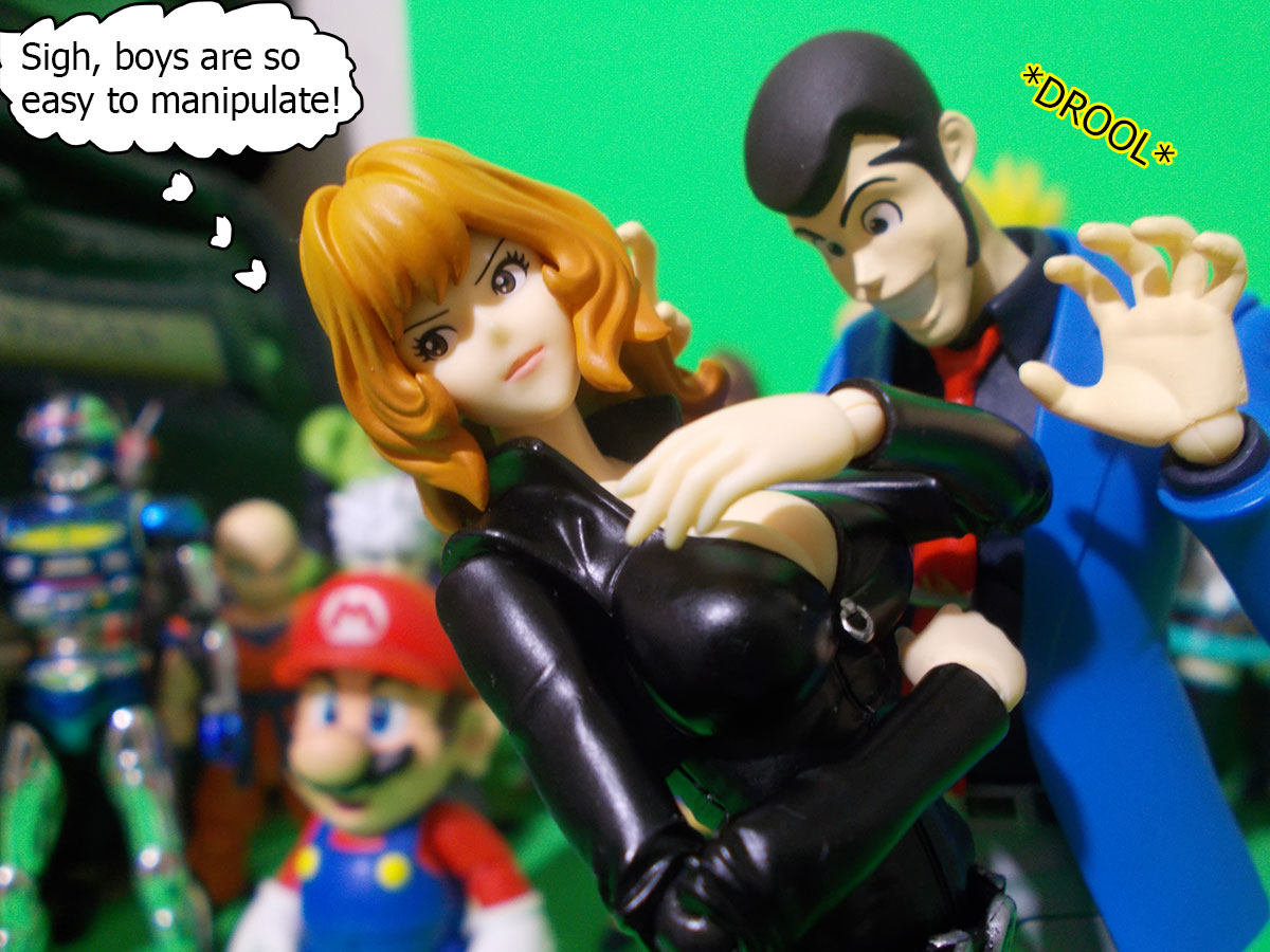 figuarts - Fujiko and the Diamond Bear 15-drool