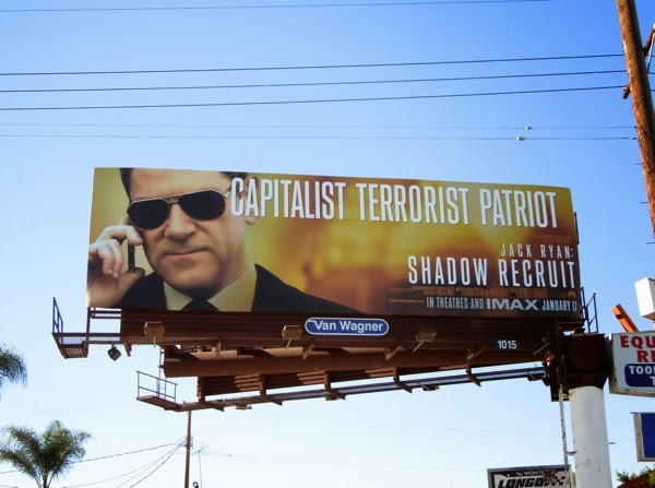 Jack Ryan Shadow Recruit movie billboard