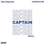 Wiz Khalifa - Captain (feat. Smokepurpp) [Remix] - Single Cover