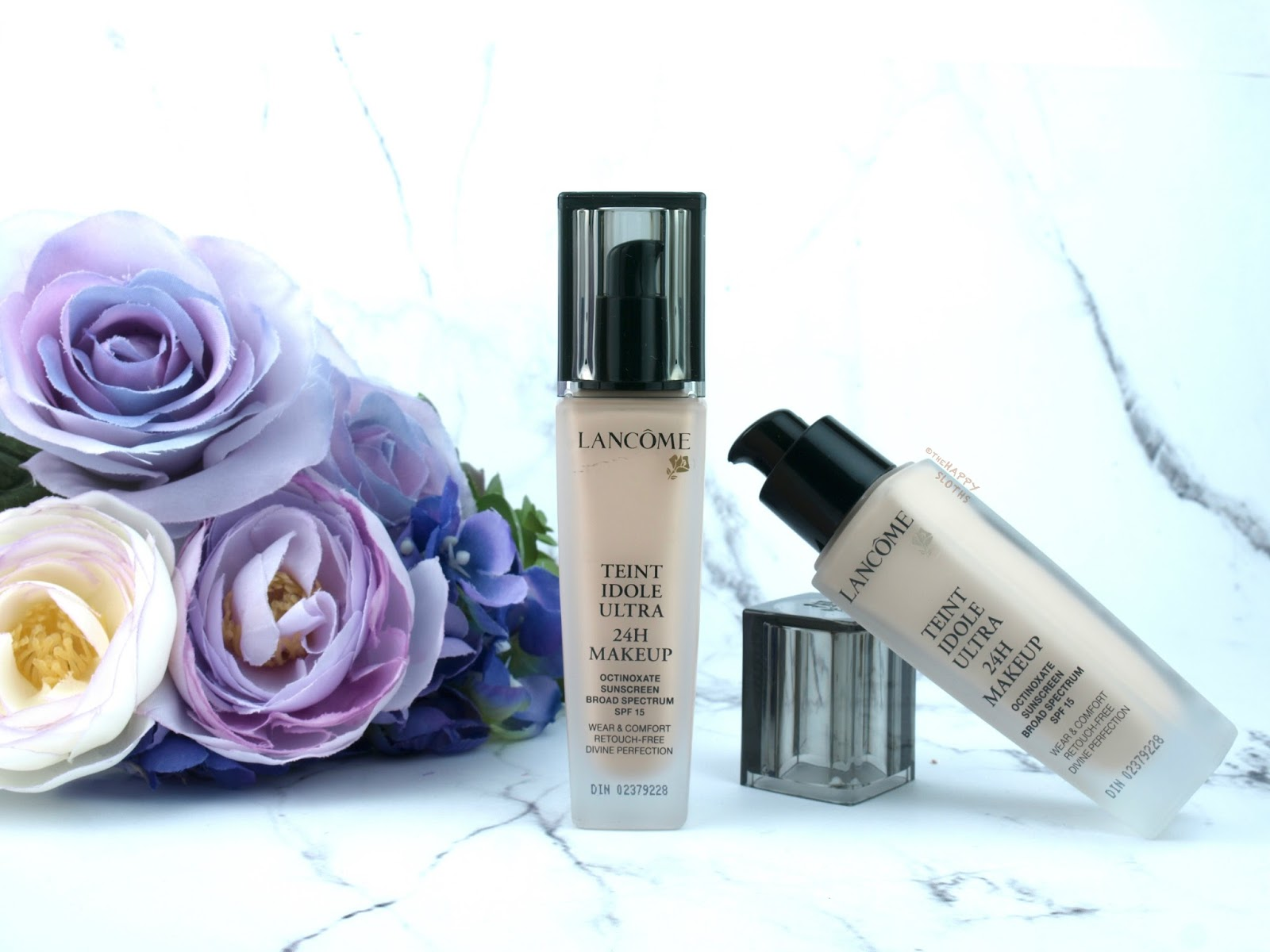 Lancome Teint Idole Ultra Long Wear 24H Foundation: Review and Swatches