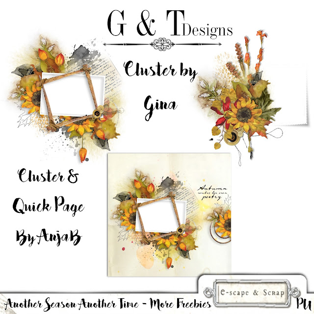 G&T Designs - Another Day Another Season - More Freebies