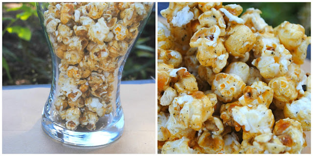 Movie - Night- popcorn- poplandia - honey- lavendar