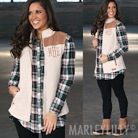 quilted vest with plaid shirt outfit