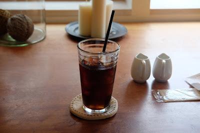 RAKU CAFE AND GALLERY(ラク カフェ)アイスコーヒー