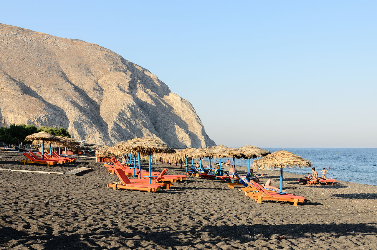 The 10 Best Things To Do In Santorini Island - Visit Perissa Beach