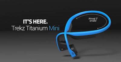Enter the Aftershokz Trekz Titanium Headphone Giveaway. Ends 1/5