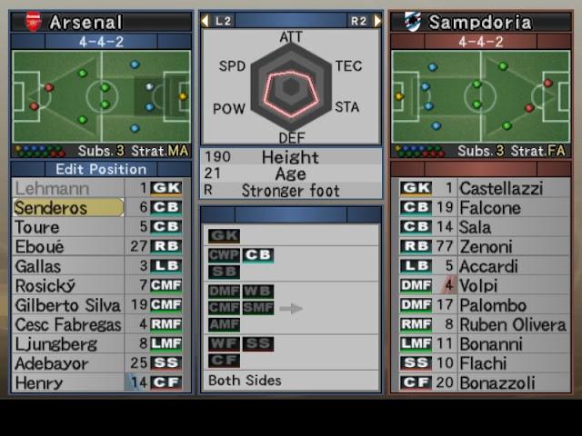 Pro Evolution Soccer 2007 (PES 07) PC Download Full Version Screenshot 3