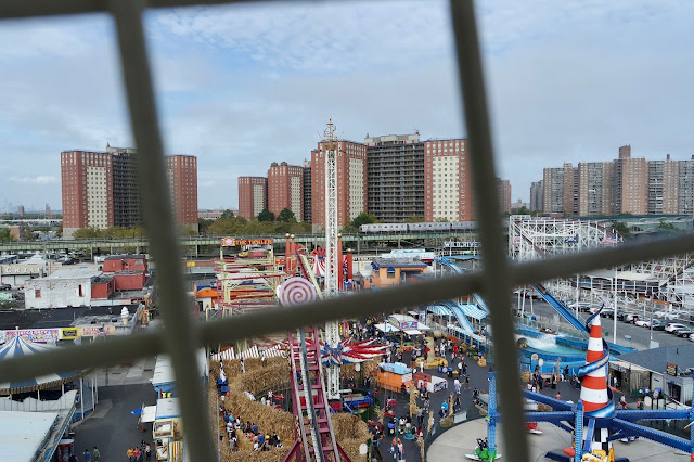 Coney Island, Brooklyn Deno's Wonder Wheel Park America Travel Blog