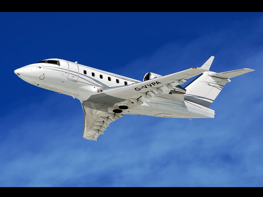 wallpapers: Challenger 604 Aircraft Wallpapers