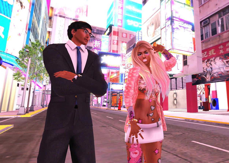 Setsuna In Ganguro Style Virtual Asia Second Life