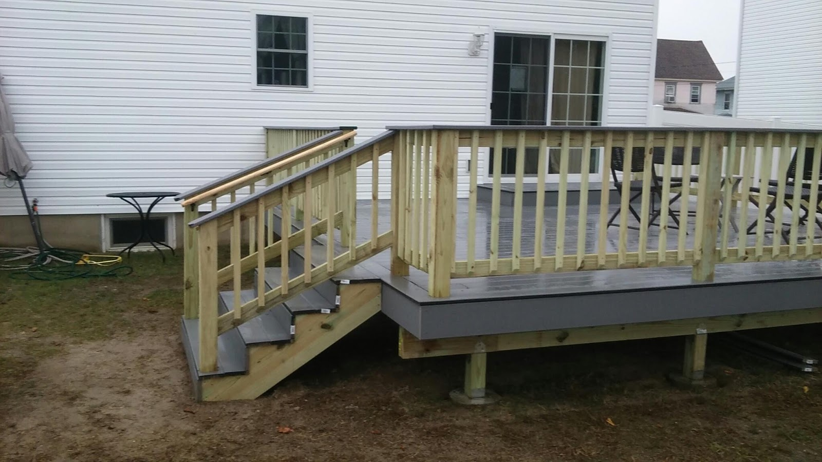 Complete Home Remodeling And Construction 856 956 6425 | Pressure Treated Graspable Handrail