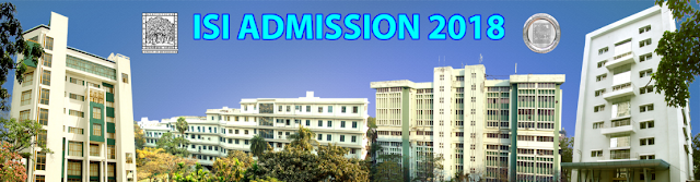 Indian Statistical Institute Degree, Diploma Admission 2018