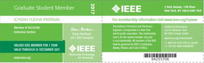 Member Card IEEE Indonesia Section
