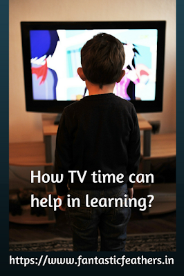 How TV time can help in learning for kids