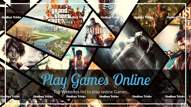 Online Games : Websites List, Play Game online free
